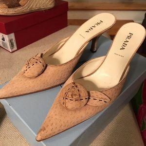 Blush Prada Heels